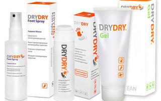 Дезодорант Dry Dry при повышенной потливости