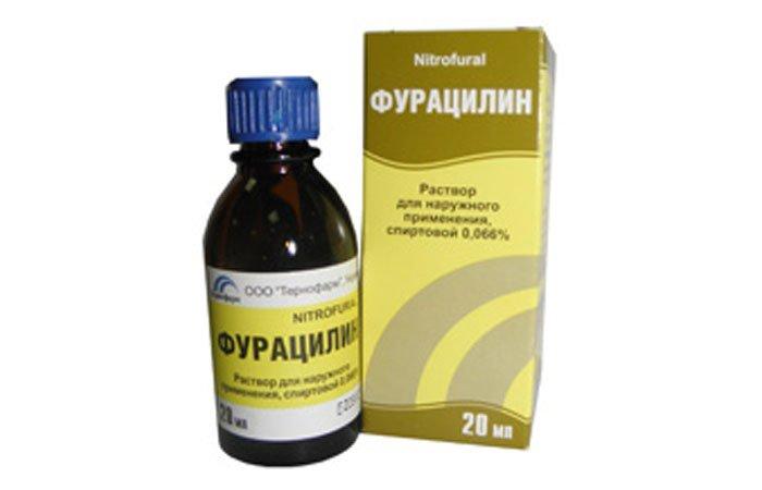 Раствор фурацилина для глаз как сделать