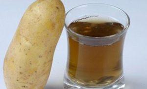 Сок картошки