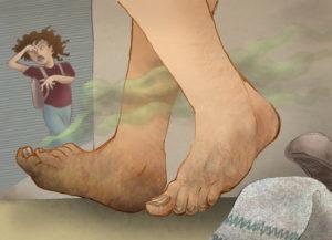 Ужасно воняют ноги