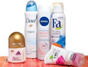 Большой выбор дезодорантов