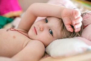 Потливость у ребенка