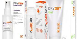 Средства от потливости Dry Dry