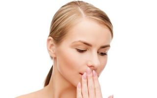 Как убрать плохой запах изо рта