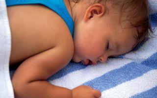 Потливость у ребенка при засыпании ночью
