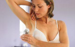 Что делать при повышенной потливости подмышек у женщин