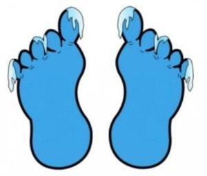 Мерзнут ноги