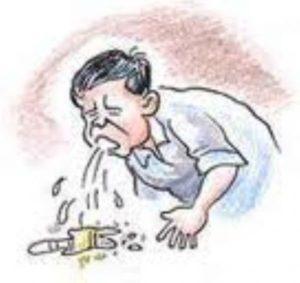 Отрыжка, тошнота и боль в животе