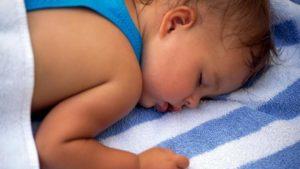 Ребенок засыпает